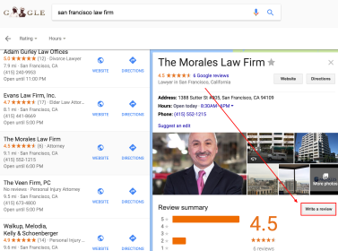 image of local review